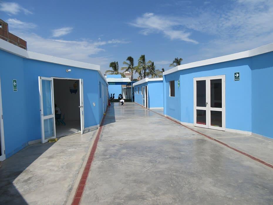 Interiores de Colegio Interamericana Covicorti, Trujillo, Peru