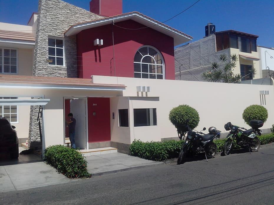 Fachada Clientes particulares Urb. El Golf, Trujillo
