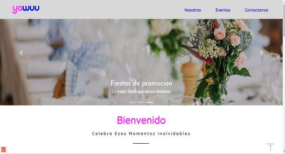 Pagina web YaWuu, Trujillo, Peru
