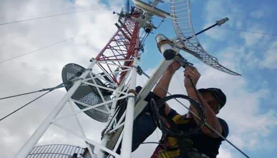 Implementación de radio enlace