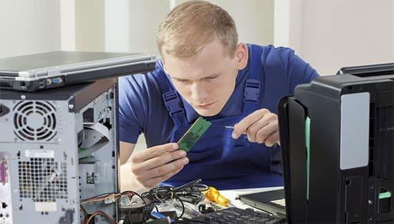 Soporte técnico para computadoras, laptops e impresoras