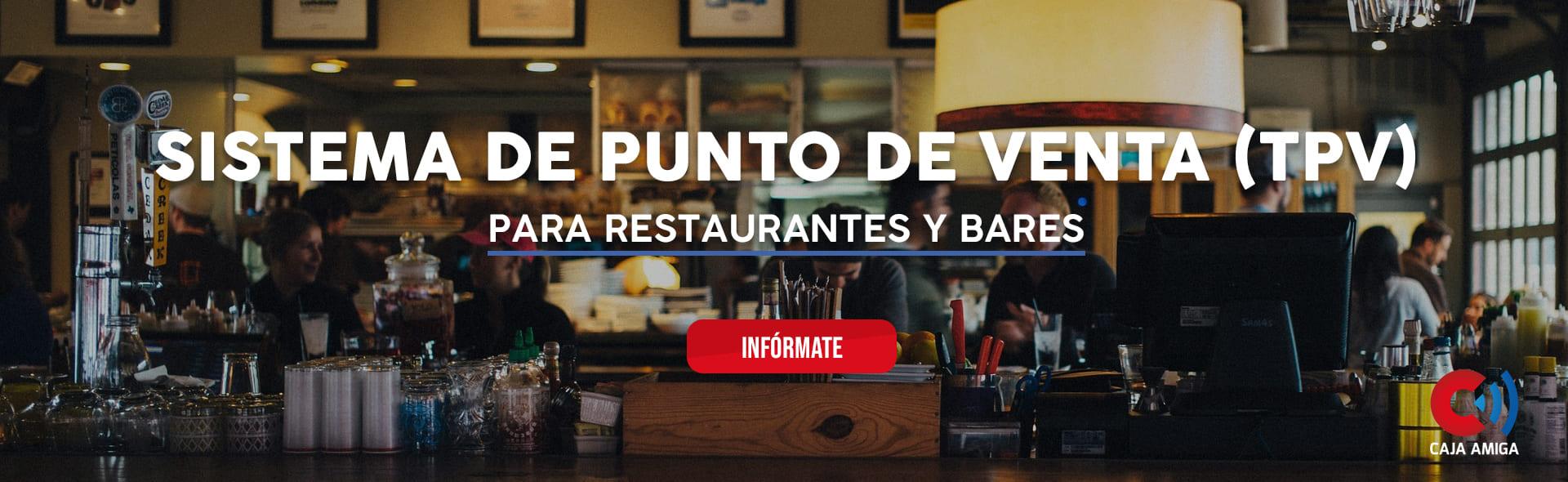 Informacion sobre sistema de punto de venta para bares y restaurantes